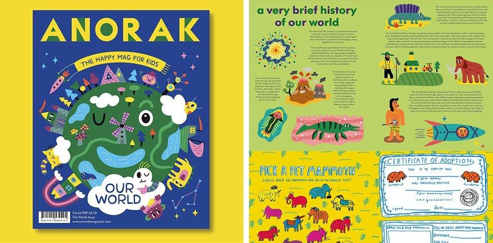 Mengajari Banyak Hal Untuk Anak-Anak Anda Menggunakan Majalah Alternatif Anorak
